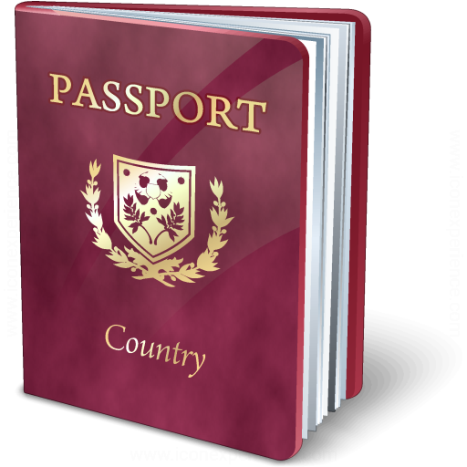 Iconexperience V Collection Passport Purple Icon