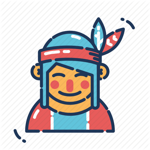 American, Native, Native American, Thanksgiving Icon