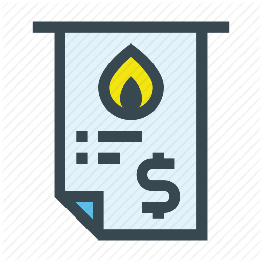Bill, Gas, Invoice, Natural, Town, Voucher Icon