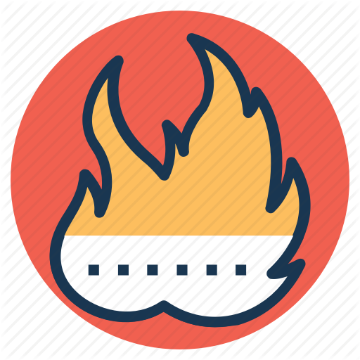 Burning Oil Gas Flare, Fire, Flame, Gas Flaring, Natural Gas Icon
