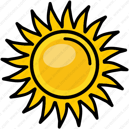 Download Sunshine,heat,sun,light,nature Icon Inventicons