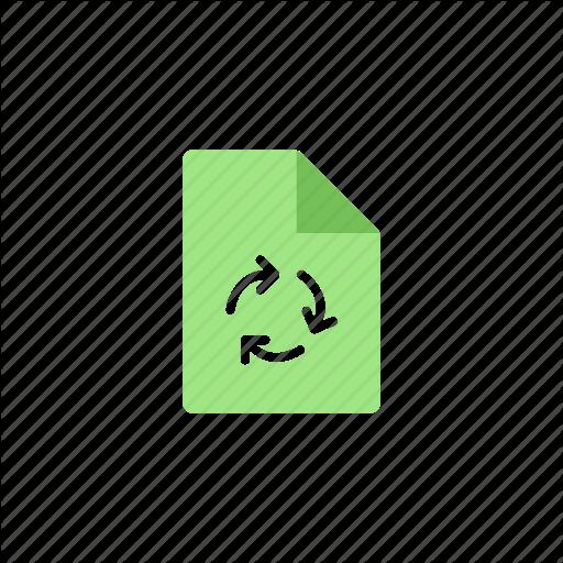Bio, Document, Ecologic, Green, Nature, Recycle Icon
