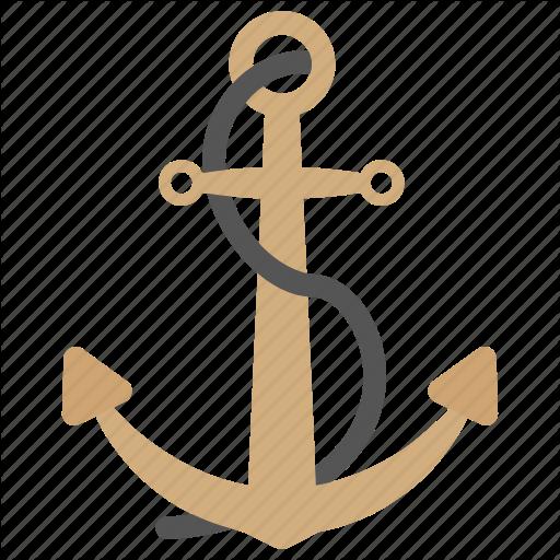 Nautical Ship Tool, Sailing Anchor, Sailing Boat, Sea And Sailing
