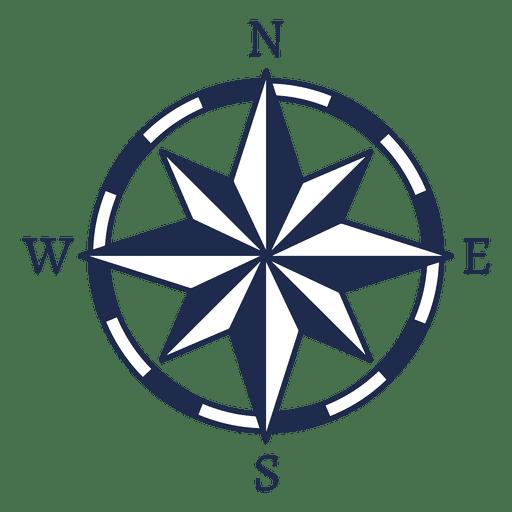 Vintage Nautical North Arrow Ubication