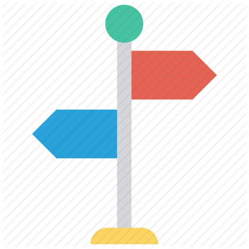 Arrows, Board, Direction, Navigtion, Path Icon