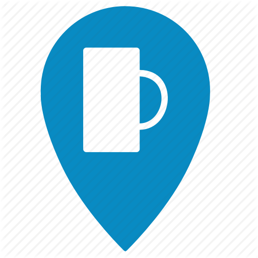 Bar, Beer, Geo, Location, Map, Point, Pointer Icon