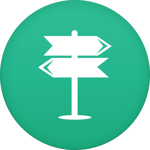Navigation Icon Free Of Circle Icons