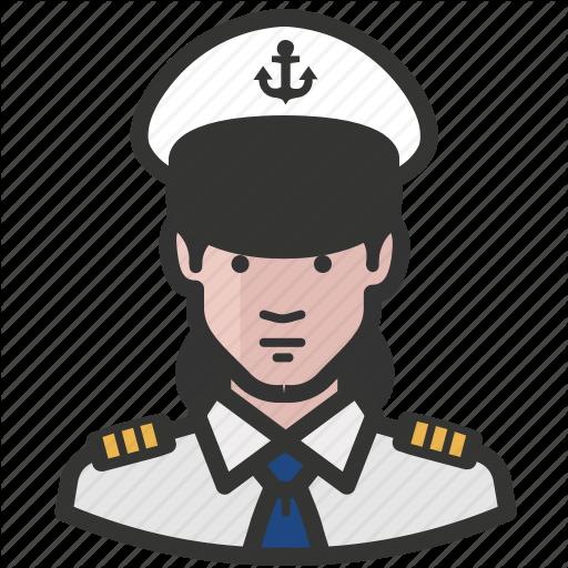 Avatar, Female, Girl, Military, Navy, Woman Icon