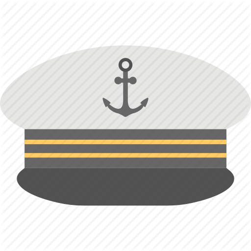 Captain Cap, Navy Captain Hat, Ship Captain Cap, Yacht Captain Cap