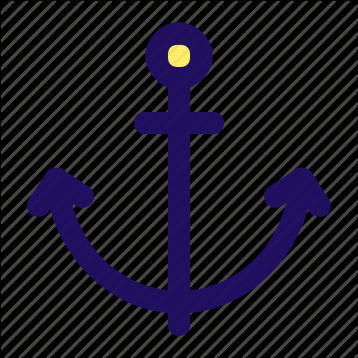 Anchor, Boat, Marine, Navy, Sea, Ship Icon