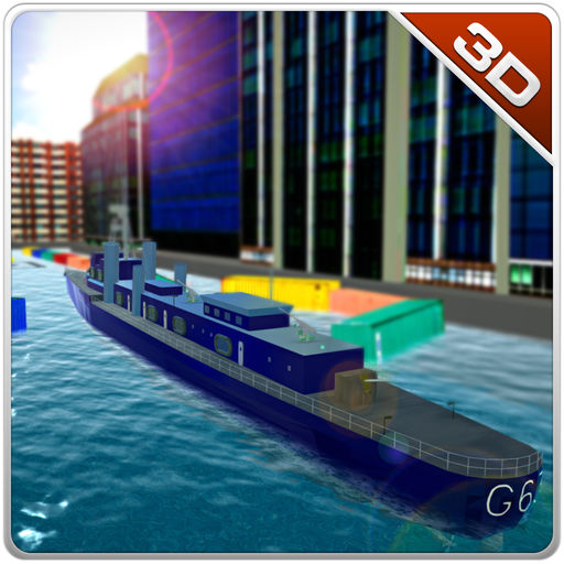 Navy Ship Parking Crazy Driving Simulator