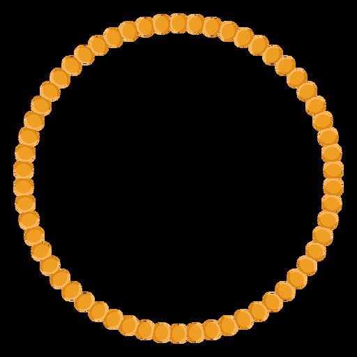Bead Necklace Vector Icon