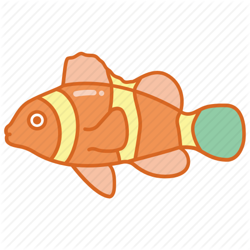 Aquarium, Clown, Clownfish, Fish, Nemo, Reef, Tropical Icon