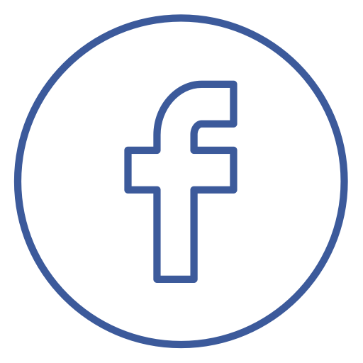 Facebook, Neon, Chat, Line, Share, Circles, Social Icon