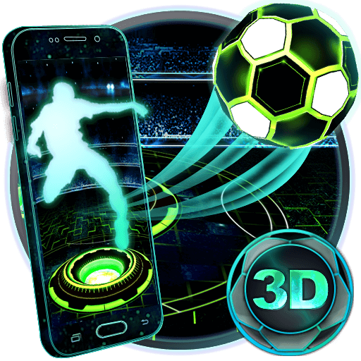 Neon Football Tech Theme Apk Download From Moboplay