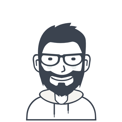 User, Person, Man, With Beard, With Glasses Icon Free Of User