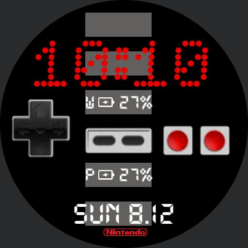 Nes Controller For G Watch R