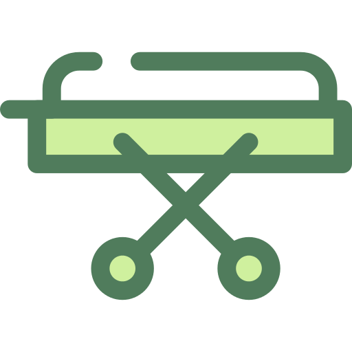 Stretcher Illness Png Icon