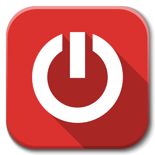 Apps Dialog Shutdown Icon Flatwoken Iconset Alecive