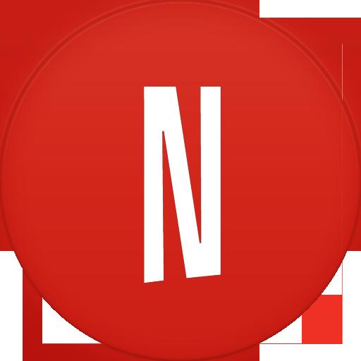 Netflix Icon Circle Addon Iconset