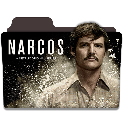 Narcos Tv Netflix Series Folder Icon