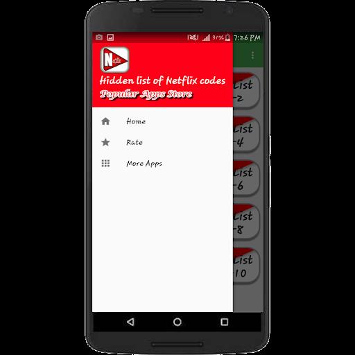 Hidden List Of Netflix Codes All Code Apk