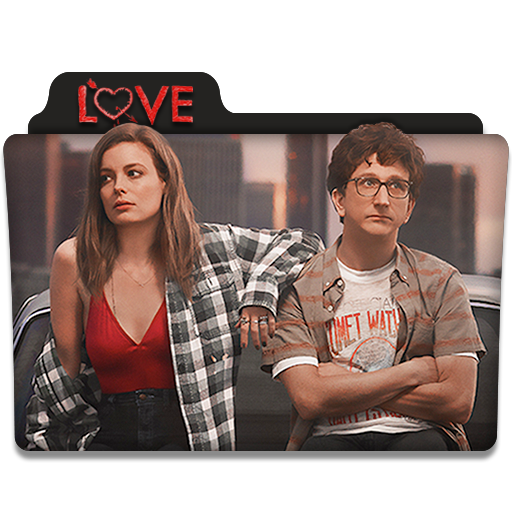 Love Tv Series Folder Icon