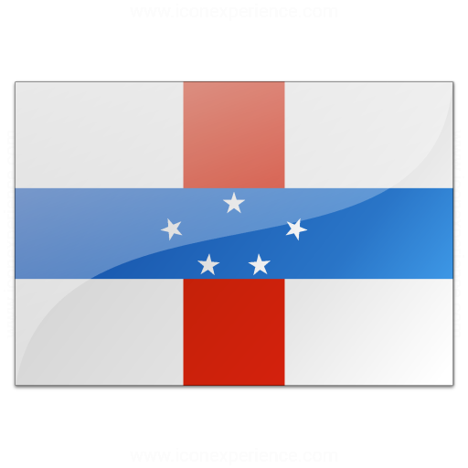 Iconexperience V Collection Flag Netherlands Antilles Icon