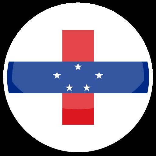 Netherlands Antilles Icon Round World Flags Iconset Custom