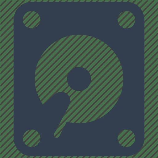 Attached Network Storage Disk Icon