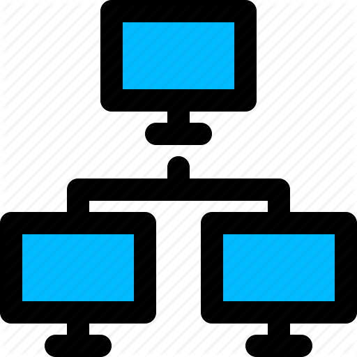 Client Network, Computer Network, Connection, Networking Icon