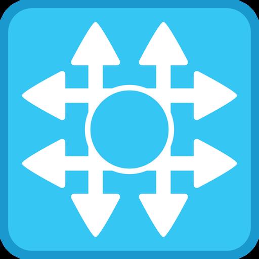 Cisco, Networking, Program, Stencil, Switch, Visio Icon