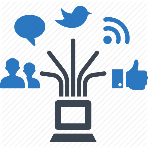 Communication, Connection, Networking, Social Media Icon