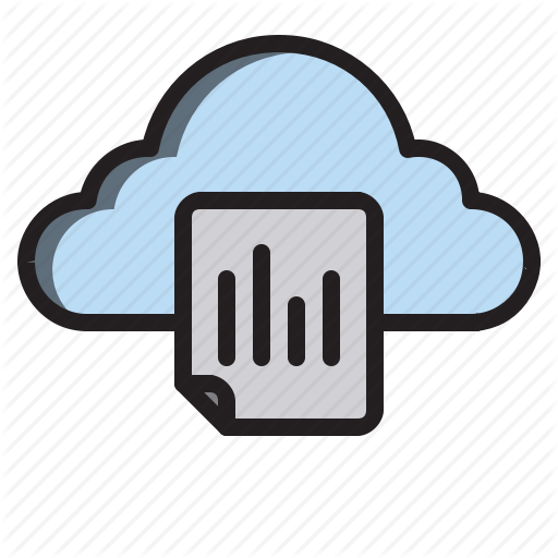 Cloud, Computer, Document, Interface Icon