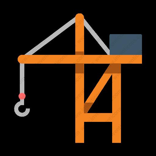 Download Port,crane Icon Inventicons