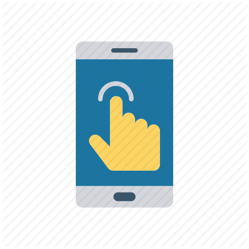 Device, Phone, Pointer, Tap Icon