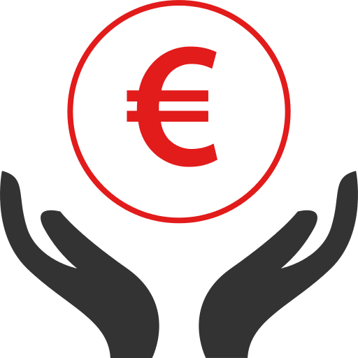 Euro Hand Png Icon