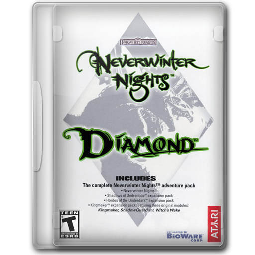 Neverwinter Nights Diamond Icon Game Cover Iconset Jeno Cyber