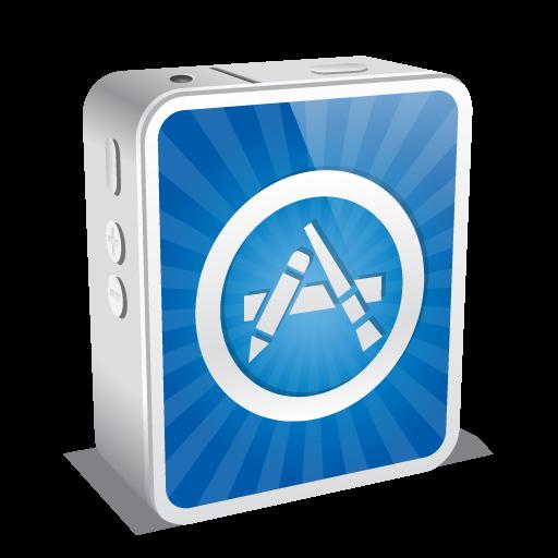 App Store Icon Mini Iconset Double J Design