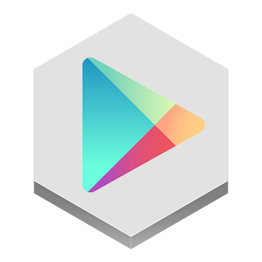 Google Play Icon Hex Iconset