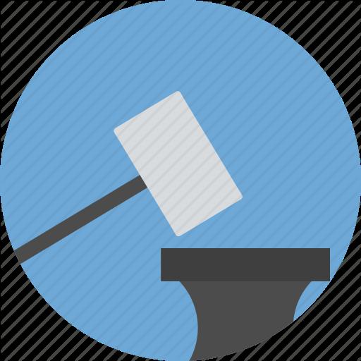 Justice, Law, Mallet, Order Icon Icon