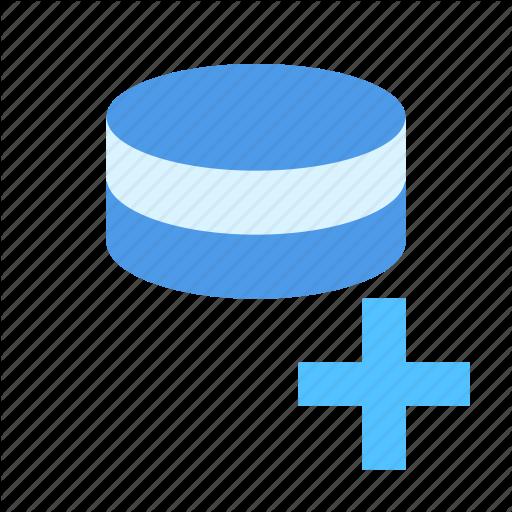 Database, New, Record Icon