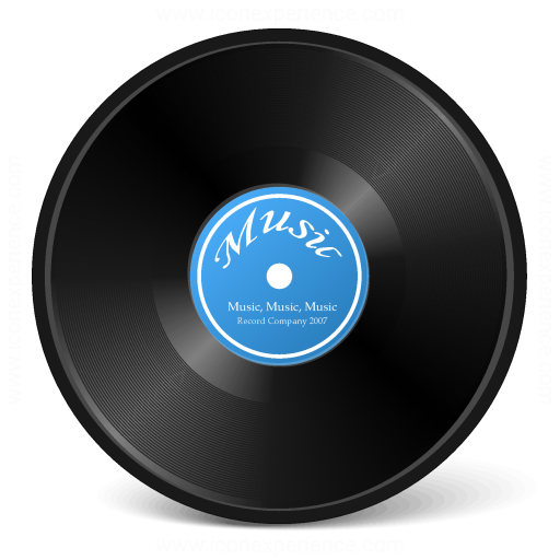 Iconexperience V Collection Record Icon