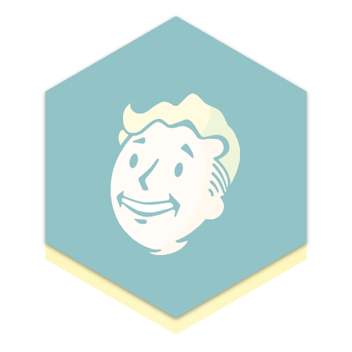 I Made A Honeycomb Icon For Fallout Rainmeter