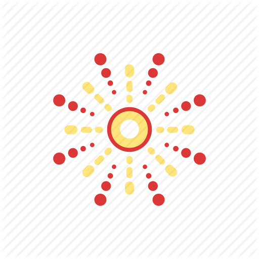 Air, Explosions, Fireworks, Small, Stars Icon