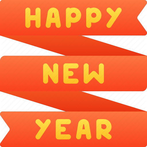 Banner, Celebration, December, Holidays, New, New Years, Year Icon
