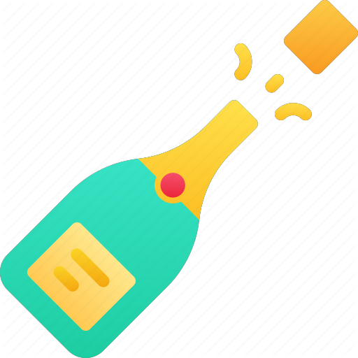 Celebration, Champagne, December, Holidays, New Years Icon