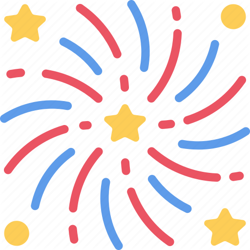 December, Explosion, Firework, Holidays, New Years, Rockets Icon