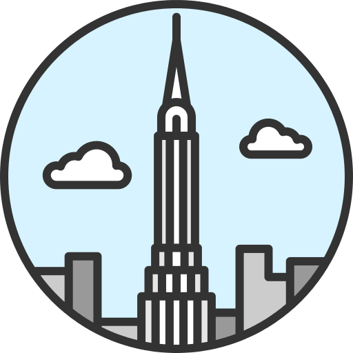 Chrysler Building New York Png Icon