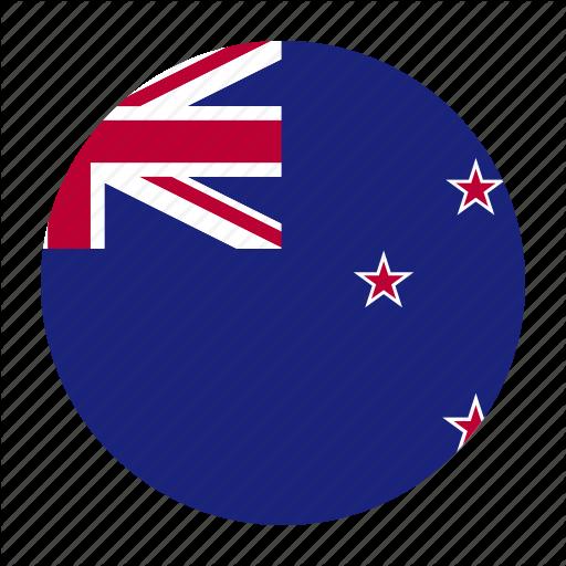 Flag, Flags, Newzealand, Oceania Icon